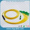 Шнур заплаты оптического волокна MPO-LC