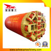 Équipement de levage hydraulique de pipe de roche 2000mm