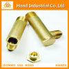 Pieza de cobre amarillo del CNC Trurning de las guarniciones de tubo para la industria petrolera
