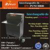 macchina per forare di carta resistente semi automatica industriale del foro di larghezza del punzone di 5mm a strati 600mm
