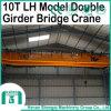 Grue électrique de Shengqi pont roulant de 10 tonnes