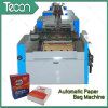 Parte inferior-Pasted Paper Bag Making Machinery de alta velocidade e de Fully Automatic (ZT9804 & HD4913)