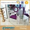 판매를 위한 타원형 뒤 디자인 스테인리스 의자