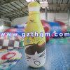 Bekanntmachen der riesigen aufblasbaren Flasche für Förderung/Ausstellung Kurbelgehäuse-Belüftung riesige aufblasbare Flasche