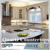De Ontwerpen van de keuken met Countertops van het Kwarts