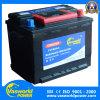 батарея автомобиля 12V60ah JIS стандартная от китайского изготовления с самым низким ценой
