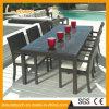 大きいダイニングテーブルの柳細工の藤の椅子表の一定の屋外のPaitoのレストランの家具