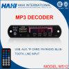 Placa de decodificador de MP3 com cartão USB TF com preço mais baixo 5V / 12V