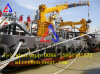 Гидравлические телескопические секции стрелы прибрежными морскими кран с рычага поворотной цапфы палубе кран