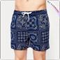 L'azzurro ha stampato per gli Shorts di nuotata
