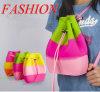 Morral colorido del silicio del nuevo cabrito de moda 2017