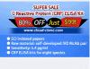 Kit di Elisa per la proteina reattiva di C (CRP) - USD99.00 per 96t