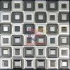 중첩 모양 스테인리스 금속 모자이크 (CFM750)