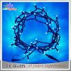 10m luz de goma de la cadena de la Navidad del día de fiesta LED de la decoración del alambre 24V