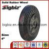 Hochleistungs- 4 Zoll-Naturkautschuk-Räder für Laufkatze