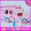 Комплект автомобиля игрушки младенца 2016 оптовых продаж деревянный, комплект автомобиля игрушки новых малышей способа деревянный, автомобиль установленное W04A310 игрушки самых лучших детей деревянный