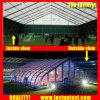 テニスコート20X50mのためのカーブの玄関ひさしのテント20m x 50m 50 50X20 50m x 20mによって20