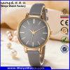 Orologio classico delle signore casuali della cinghia di cuoio del ODM (WY-P17008A)