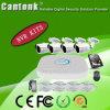 Piscina 4CH 2MP 4MP NVR POE CCTV DVR Kit com HDD