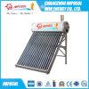 Calefator de água solar das câmaras de ar de Unpressured 24 do preço de fábrica e geyser solar
