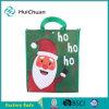 Saco de compra não tecido personalizado logotipo do Natal de 100% PP