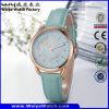 Wristwatch повелительниц кварца кожаный планки OEM/ODM (Wy-095B)