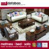 Estilo americano moderno sofá de couro genuíno para mobiliário doméstico (como845)