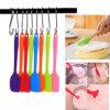 FDA Food Grade Ustensiles de cuisine Spatule de silicone pour outils de cuisson