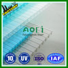 PC 2016 dello Zhejiang Aoci Triple/PC Layer Wall Hollow Sheet per The Steel Structure Workshop Lighting Materials