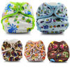 Natural Bamboo fiber baby Cloth Diapers (JB1001-1006)