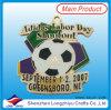 Medaglia di gioco del calcio di Festa del Lavoro per la partita di football americano competitiva della materia