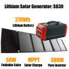 Memoria portatile di energia solare con potere del recupero di Lithiumlife 270wh