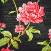 Papier peint à la maison profondément de relief floral moderne de décoration de PVC de conception