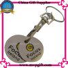Metallschlüsselkette mit Laufkatze-Münzen-Schlüsselring-Geschenk