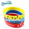 Шикарный изготовленный на заказ Wristband силикона печатание шаржа для случая