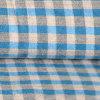 Cotton puro Yarn Dyed Woven Cloth per Shirt