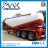3axle cemento a granel Cisterna Transporte de Carga Semirremolque