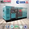 고품질 침묵하는 방수 220kw 275kVA 300kw 380kVA 디젤 엔진 발전기 가격