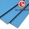 El panel compuesto de aluminio del poliester de GLOBOND (PE-361 azules claros)