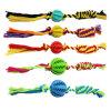 Haltbare Zahn-Reinigungs-Gummihaustier-Spielwaren für Hund