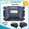MPPT 12V/24V/48V LCD+Backlight Solarladung-Controller MP-1015D
