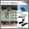 構築のための携帯用および耐久の移動式足場