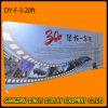 La tensión de 20 pies, telón de fondo de Tela Banner Display Stand para Ferias stand