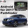 Android 5.1 4.4 Navigations-Kasten für Video-Schnittstelle die Nissan- Pathfinder2017, androide Navigations-Rückseite und das Panorama 360 wahlweise freigestellt