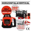 Self-Leveling十字ライン自動赤いRotaryr赤いレーザーのレベル