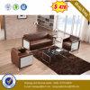 Sofá de cuero de tres asientos para la casa usada (HX-CS062)