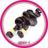 実質の未加工インポートのインドの毛の拡張
