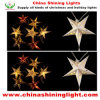 DIY 서류상 별 다중 색깔 LED 전구 크리스마스 불빛