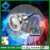 10W 1000lm hohe Leistung LED IP65 DC12V LED Underwater Light CER RoHS Approved Underwater Fountain RGB LED Light