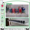 Venta al por menor de cigarrillos de plástico de estante y estante de Cola de Pusher Pusher